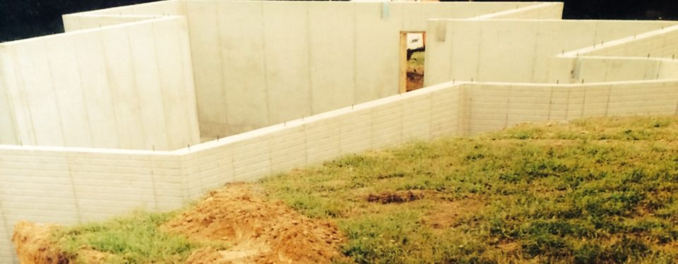 Poured concrete walls bassett masonry inc for Poured concrete basement walls